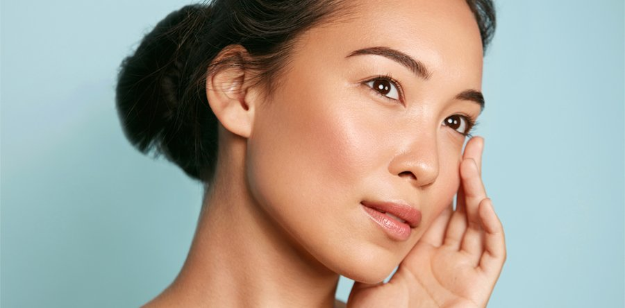 http://Skin%20care.%20Woman%20with%20healthy%20facial%20skin%20portrait